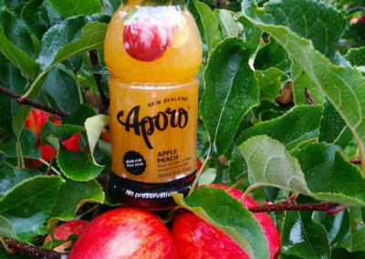 Aporo juice bottle
