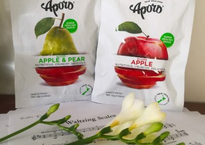 Aporo Apple Snack Banner 3